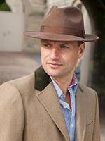 Шляпа CHRISTYS арт. CHEPSTOW cwf100011 (коричневый)